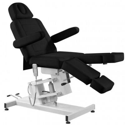 Козметичен електрически стол с 1 двигател - черен