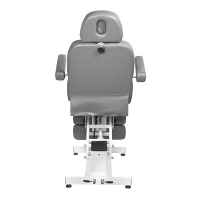 Козметичен електрически стол с 1 двигател - сив