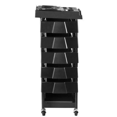 Фризьорска количка с 5 чекмеджета
