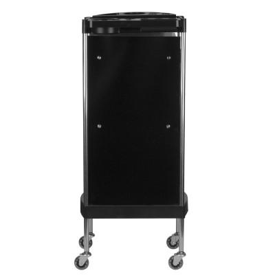 Фризьорска количка с гумени колелца