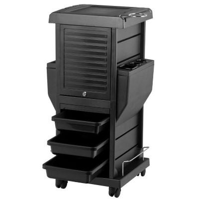 Фризьорска количка със заключващи се шкафове