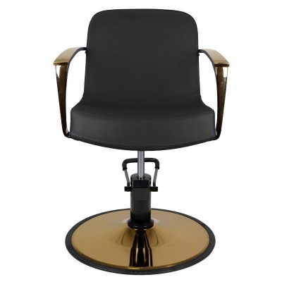 Фризьорски стол Болоня - черен