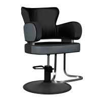 Фризьорски стол Айндховен - черен