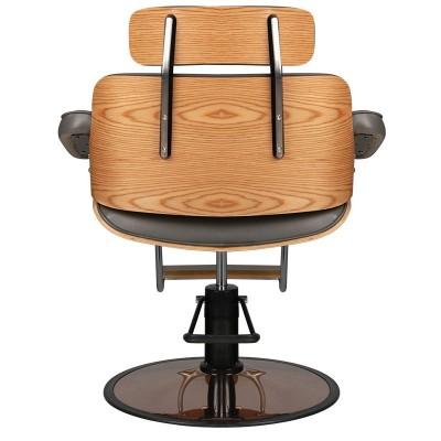 Фризьорски стол Флоренция - сив