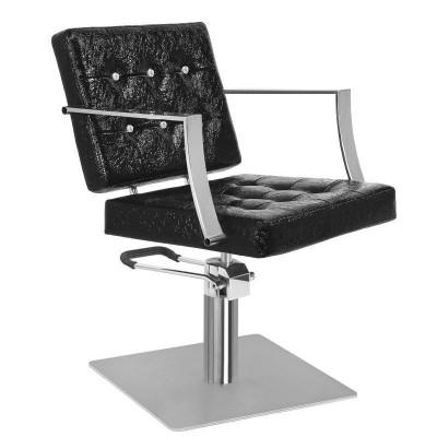 Фризьорски стол Марбела - черен