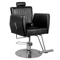 Фризьорски и бръснарски стол с облегалка за глава