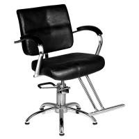 Фризьорски стол с поставка за крака