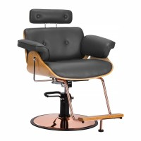 Фризьроски стол с регулиране Флоренция - сив