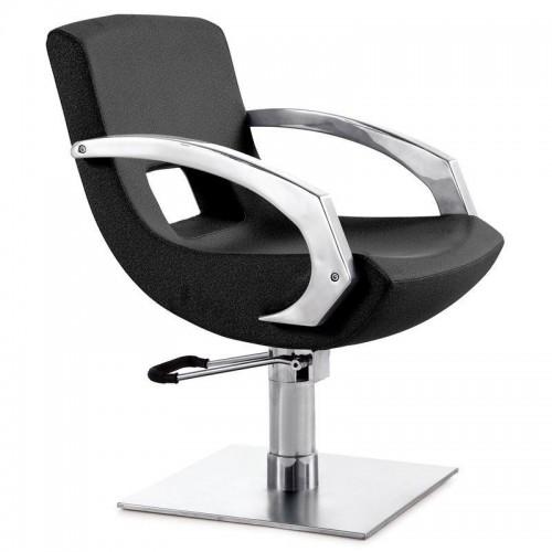 Фризьорски стол със солидна основа