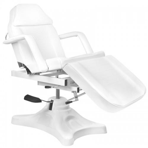 Хидравличен бял козметичен стол