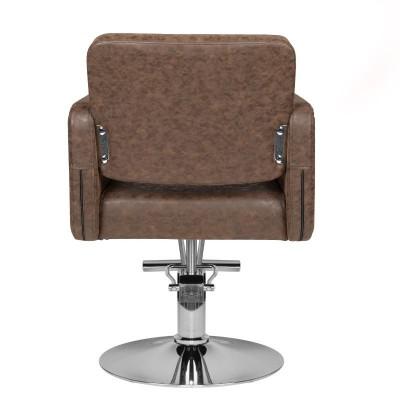 Изискан кафяв фризьорски стол