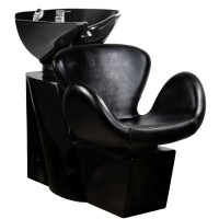Измивна колона Амстердам - черна мивка