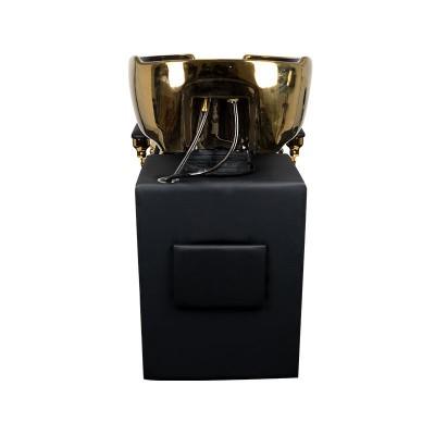 Измивна колона Клаудиус - черна със златно