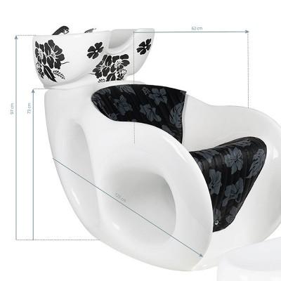 Измивна колона Малва – бяла