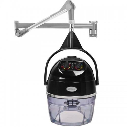 Каска за изсушаване на коса с 2 скорости - черна