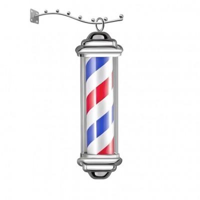 Класическа светлинна реклама за бръснарница