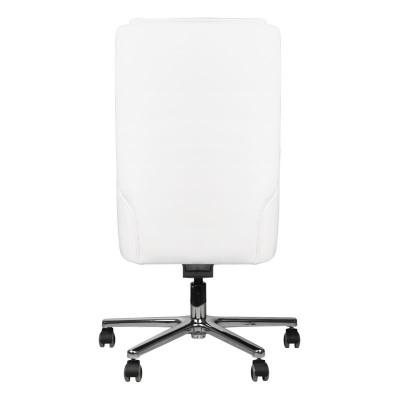 Комфортен бял козметичен стол