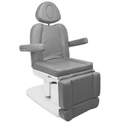 Козметичен електрически стол Azzurro сив