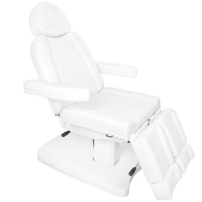 Козметичен електрически стол бял