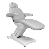Козметичен електрически стол сив