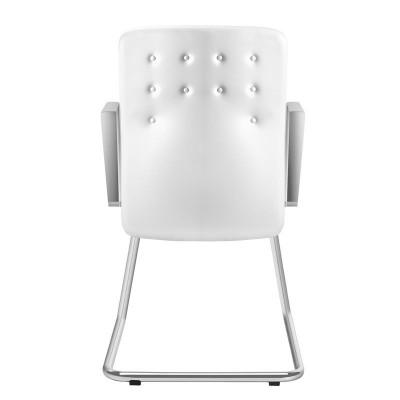 Козметичен стол бял