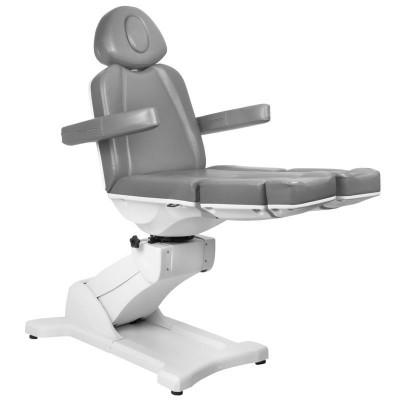 Козметичен стол електрически Azzurro сив