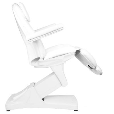 Козметичен стол електрически бял