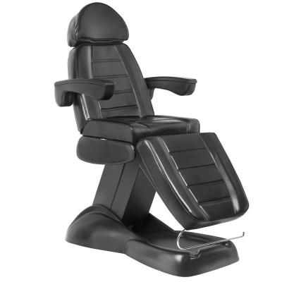 Козметичен стол електрически черен