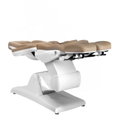 Козметичен стол електрически капучино