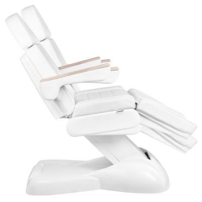Козметичен стол електрически Lux бял