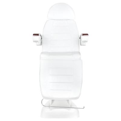 Козметичен стол електрически махагон