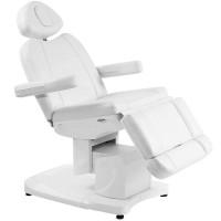 Козметичен стол електрически с подгряване бял