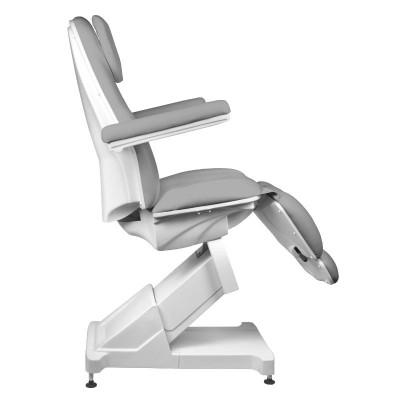Козметичен стол електрически сив