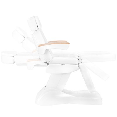Козметичен стол Lux бял