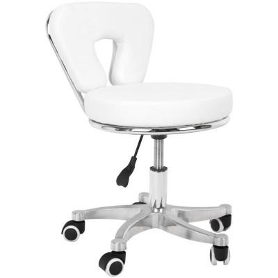 Козметичен стол за педикюр бял