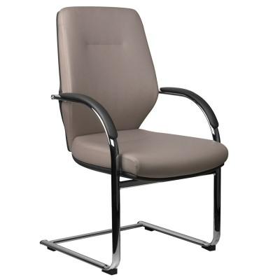 Козметичен стол сив