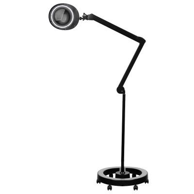 LED лапма лупа със статив Elegante – черна