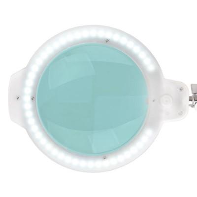 "LED лампа лупа Moonlight 5"" – бяла"