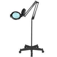 "LED лампа лупа Moonlight 5"" - черна"