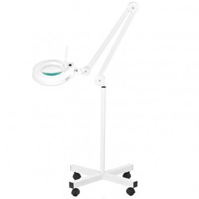 LED лампа лупа със статив