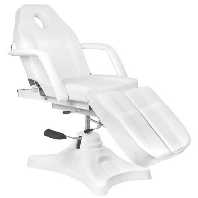 Луксозен бял стол за педикюр