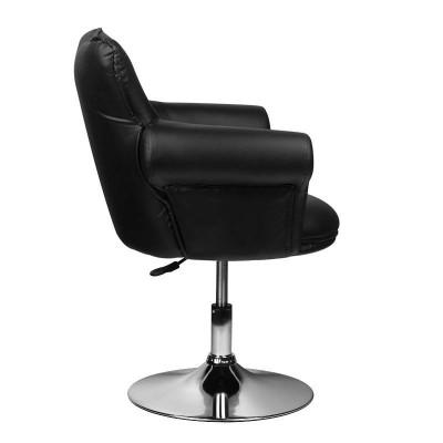 Луксозен черен козметичен стол