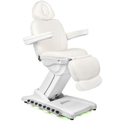 Луксозен козметичен стол електрически с подгряване