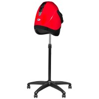 Луксозна фризьорска каска – червена