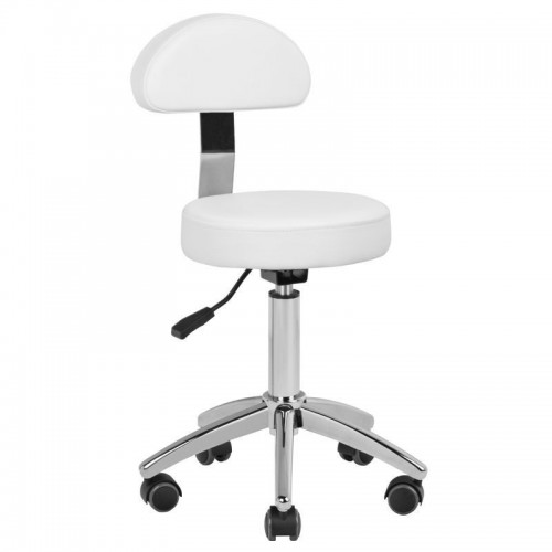 Малък бял козметичен стол