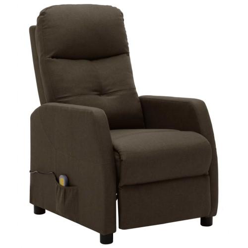 Масажно кресло – кафяво