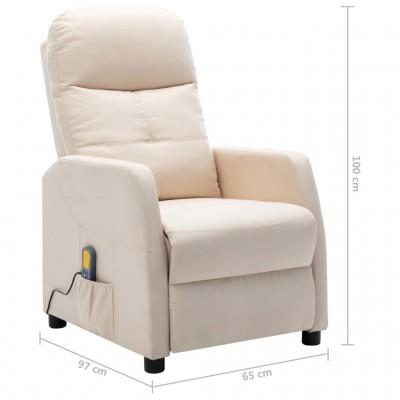 Масажно кресло – кремаво