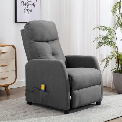 Масажно кресло – сиво