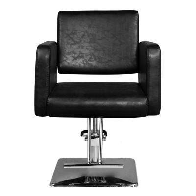 Модерен черен фризьорски стол