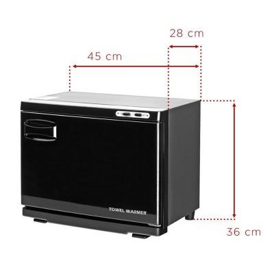 Подгревател за хавлиени кърпи с UV стерилизатор